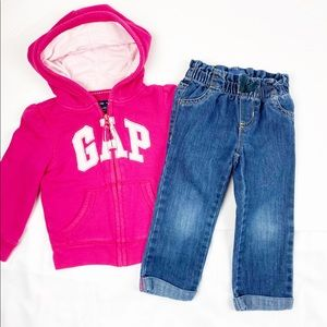 GAP Shirts & Tops - Baby Gap jacket and Old Navy Denim Pants
